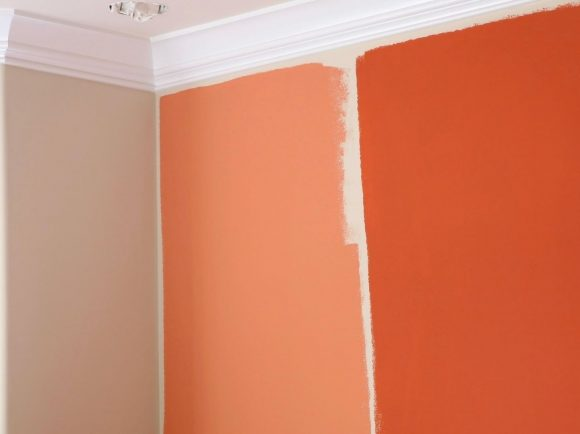 feature wall colour selection
